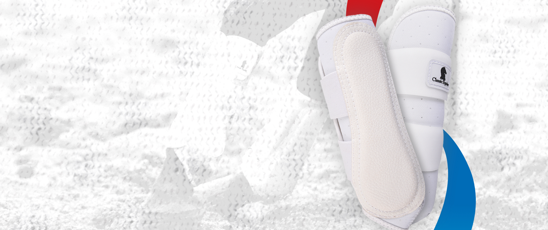 The Airwave boot is breathable and provides full support for practice or in the arena